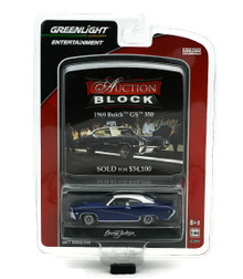 1969 Buick GS 350 GREENLIGHT AUCTION BLOCK Series 10 Diecast 1:64 FREE SHIPPING