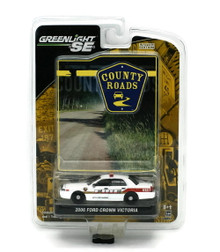 2006 Ford Crown Victoria Fire Dept GREENLIGHT COUNTRY ROADS Diecast 1:64 FREE SHIPPING