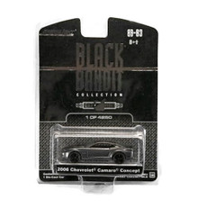 2006 Chevrolet Camaro Concept Greenlight BLACK BANDIT LE 4032 Diecast 1:64 FREE SHIPPING