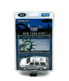 Ford Expedition New York City NYPD GREENLIGHT CITY WHEELS LE Diecast 1:64 Scale