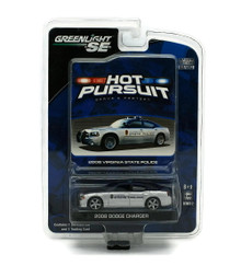 2008 Dodge Charger State Police GREENLIGHT HOT PURSUIT Diecast 1:64 FREE SHIPPING