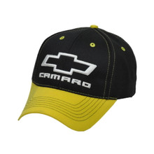 Hat - Chevrolet  Camaro Logo 3-D Embroidered Ball Cap Adjustable FREE SHIPPING