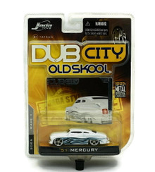1951 Mercury Jada DUB City Old Skool Diecast 1:64 Scale FREE SHIPPING