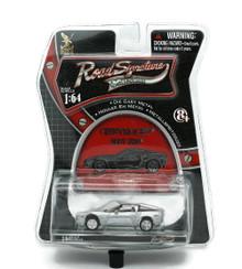 2007 Chevrolet Corvette Z06 Silver ROAD SIGNATURE Diecast 1:64 FREE SHIPPING