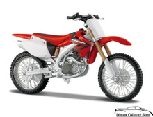 HONDA CRF 450R Motorcycle MAISTO Diecast 1:12 Scale FREE SHIPPING