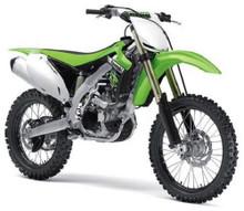 KAWASAKI KX 450F Motorcycle MAISTO Diecast 1:12 Scale Green FREE SHIPPING