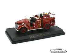 1941 GMC  GMC Plant Protection Detroit Fire Truck SIGNATURE MODELS Diecast 1:32