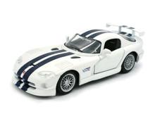 1997 Dodge Viper GT-2 MAISTO SPECIAL EDITION Diecast 1:24 - White