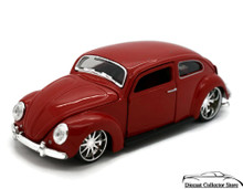 VW Volkswagon Beetle MAISTO G RIDEZ Diecast 1:24 Scale Red FREE SHIPPING