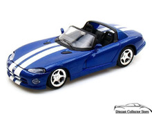 1997 Dodge Viper RT/10 MAISTO SPECIAL EDITION Diecast 1:24 Scale Blue