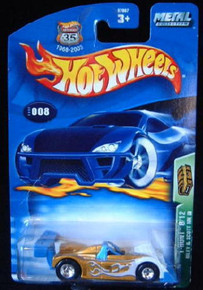 HOT WHEELS 2003 TREASURE HUNT #8 RILEY& SCOTT MK III Diecast 1:64 Scale