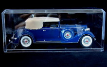 DISPLAY SHOWCASE w/ Mirror Base for 1:18 Scale Models Diecast Display Case