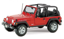 Jeep Wrangler RUBICON - MAISTO SPECIAL EDITION Diecast 1:18 Scale Red