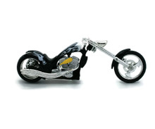 IRON CHOPPER Motorcycle MOTORMAX Diecast 1:18 Scale #123 FREE SHIPPING