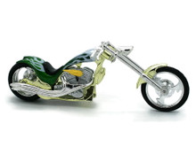 IRON CHOPPER Motorcycle MOTORMAX Diecast 1:18 Scale #128 FREE SHIPPING