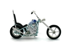 IRON CHOPPER Motorcycle MOTORMAX Diecast 1:18 Scale #122 FREE SHIPPING