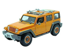 Jeep Rescue Concept MAISTO SPECIAL EDITION Diecast 1:18 Scale Orange