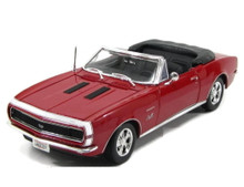 1967 Chevrolet Camaro RS/SS 396 Convertible MAISTO Diecast 1:18 Red
