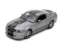 2011 Shelby Ford Mustang GT350 SHELBY COLLECTIBLES Diecast 1:18 Scale Silver