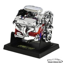Chevy Small Block Street Rod Engine - Diecast 1:6 Scale Motor 84026