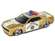 2008 Dodge Challenger Hwy Patrol MAISTO CUSTOM SHOP Diecast 1:24 Scale