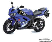 2008 Yamaha YZF-R1  NEW RAY Diecast 1:12 Scale Blue FREE SHIPPING