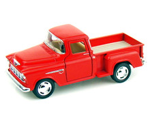 1955 Chevy Stepside Pickup KINSMART Diecast 1:32 Scale Red FREE SHIPPING