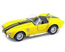 1965 Shelby Cobra 427 SC KINSMART Diecast 1:32 Scale Yellow