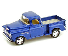 1955 Chevy Stepside Pickup KINSMART Diecast 1:32 Scale Blue FREE SHIPPING