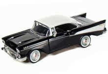 1957 Chevrolet Bel Air MOTORMAX Diecast 1:24 Scale Black