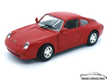 Porsche 911 MOTORMAX Diecast 1:24 Scale Red