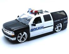 2000 Chevrolet Suburban POLICE Dub City HEAT Diecast 1:24 Scale
