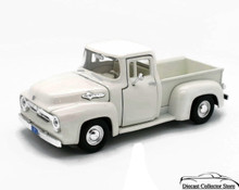 1956 Ford F-100 Pickup MOTORMAX Diecast 1:24 Scale White