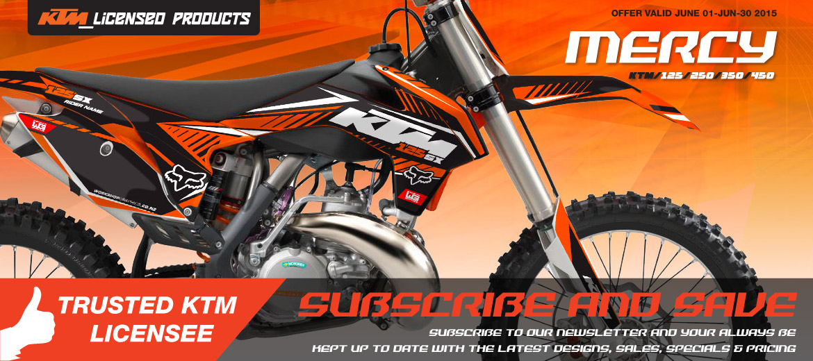 Licensed KTM Graphics