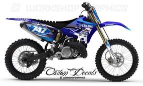 Yamaha YZ125-250 MX Graphics
