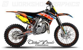 KTM 85 MX Graphics