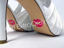Custom Lips Shoe Stickers for Wedding Shoes