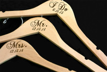 I Do Hanger - Mr. and Mrs. Hangers