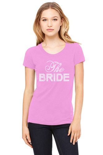 Big Bling Bridal Party Crew Neck T-Shirt