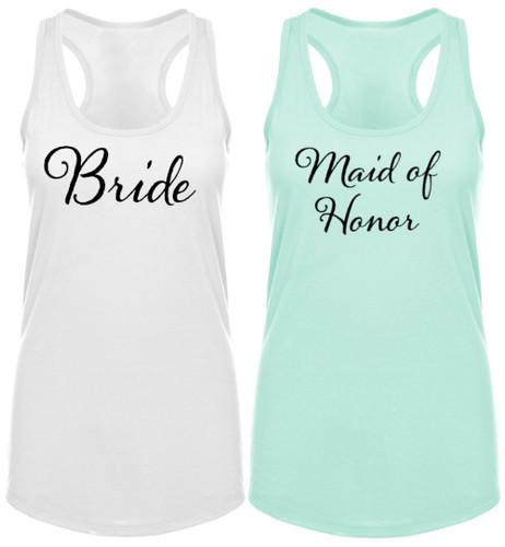 Bridal Party Racerback Tank Top