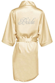 Glam Script Bridal Party Satin Robes