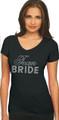 Big Bling Bridal Party V-Neck T-Shirt