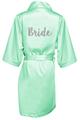 Glitter Print Bride and Bride's Squad Robes