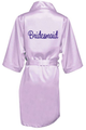 Embroidered Satin Bridal Party Getting Ready Robes!