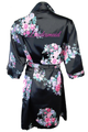Stunning Glitter Print Robe in Floral Print - Choose Your Colors
