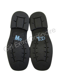 Me Too Shoe Stickers for Wedding Shoes - Light Blue