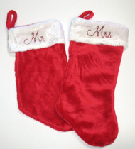 Personalized Christmas Stocking - Mr and Mrs Stockings