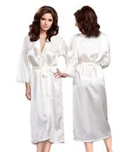 Blank Long Satin Robes