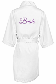 Glitter Print Bride and Bridesmaids Robes