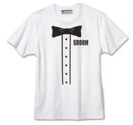Printed Groom Tuxedo Wedding T-Shirt